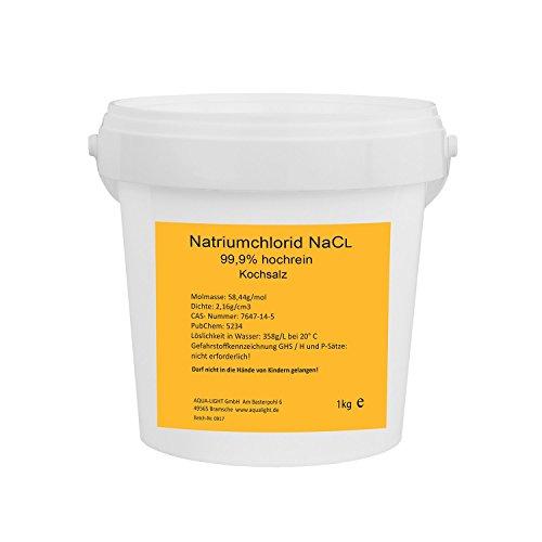 Natriumchlorid NaCl 1kg - hochrein