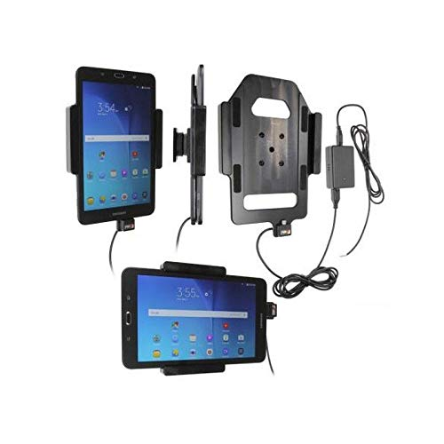 Brodit 513835 In-Car Mount for Samsung Galaxy Tab E 80 - Fixed Installation with Ball Joint