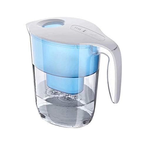 Sdesign Jug de Filtro de Agua - 3,5 litros Capacidad con indicador LED, Disfrute de Agua Fresca y Clara Todos los días: elimine el Plomo, el Cloro y el Metal