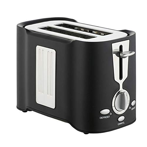 Toaster 2 Scheiben Schwarz Toaster Cream Brot Edelstahl Toaster Eierkocher Kombi Edelstahl Multifunktionstoaster Mit Eierkocher Multitoaster,Schwarz