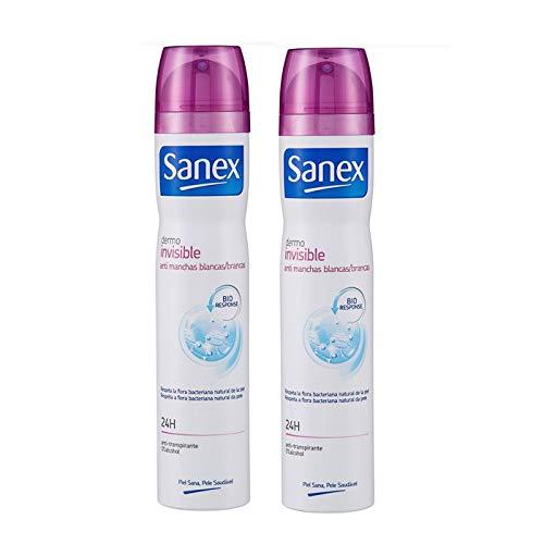 Sanex Dermo Invisible Desodorante Vaporizador - 2 Unidades