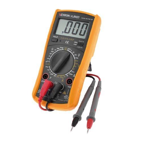 Veyron VL890D - Multimetro digitale AC/DC, corrente, capacità, resistenza, multimetro digitale