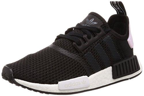 adidas NMD_R1 W, Sneaker Donna, Multicolore (Black Cblack/Ftwwht/Clpink), 36 EU