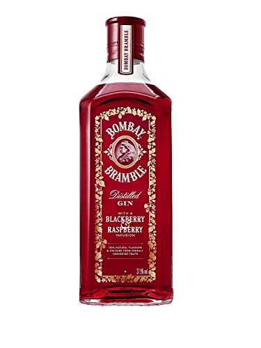 Bombay Bramble Ginebra Rosa - 1000 ml