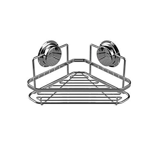 Preisvergleich Produktbild WANBAOYJ Saugnapf-Dreieck-Lagerregal,  kein Lochen,  Saugwandtyp,  für Badezimmer geeignet,  langlebig,  25 cm breit,  14 cm hoch,  25 cm lang