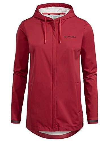VAUDE Damen Jacke Women's Cyclist Softshell Jacket II, 38, 41941, rot (red Cluster)