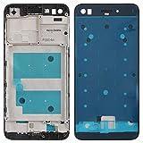 O-OBDO Pieza de repuesto para teléfono móvil Huawei Enjoy 7/P9 Lite Mini/Y6 Pro (2017) Carcasa frontal LCD Marco Bisel Placa, Pieza de reparación del teléfono celular (Color: Negro)