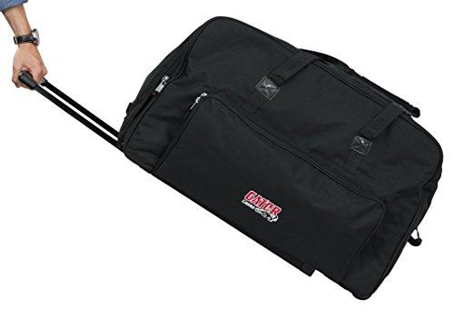 Gator Cases Rolling Speaker Bag for Standard Format 15' Loudspeakers with Retractable Pull Handle (GPA-715)