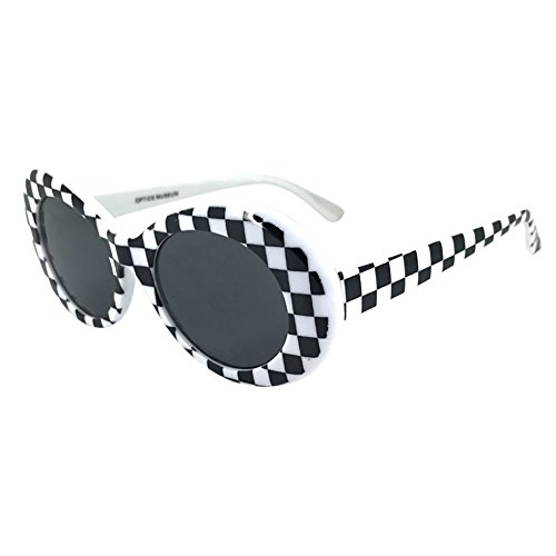 FORUU Glasses, Retro Vintage Clout Goggles Unisex Sunglasses Rapper Oval Shades Grunge 2020 Summer Newest Arrival Beach Holiday Party Stylish Best Gifts For Girlfriend Under 10 Dollars Free Delivery