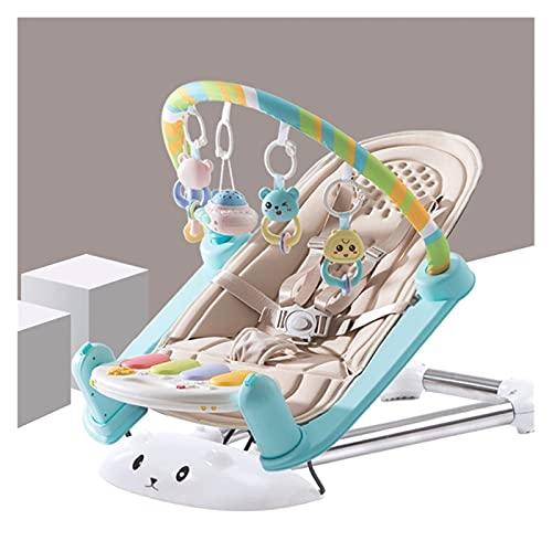 Z-Color Juguetes para bebés Bebé Fitness Rack Pedal Piano 0-24 Meses 2 años Newborn Bebé Música Educativa Juguetes Piano de Pedal para niños (Color : Brown)
