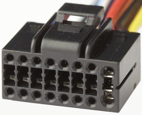 Unbekannt-Autokit-80-Kenw01-ISO-Stecker-fuer-Radio-16-Pins