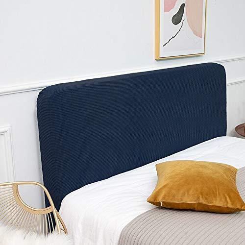Elasticitet Sänggavel Överdrag/Sänggavlar Täcke Dammtät skyddskåpa, 120/150 / 180cm Litet dubbelsänggavel för king size-säng, Elegant och generöst dekorhuvudskydd? (Color : D, Size : 175-190cm)