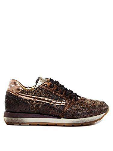 PRIMABASE Schuhe Damen Sneaker 30501 Dunkelbraun Dark Brown Women, Schuhgröße:EUR 37
