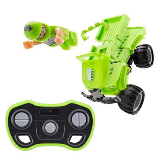 Monster Smash Ups TY6082A Carnage-Cyborg, Kleiner RC Monster Truck Spielzeug für Kinder, grün