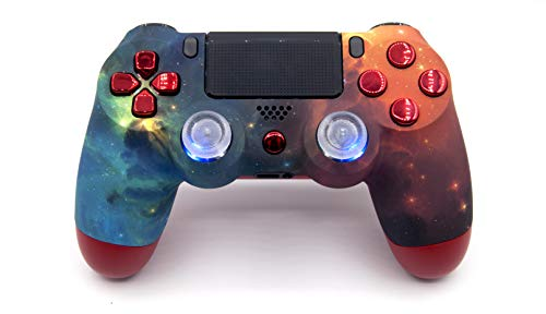 Illuminating Sky PlayStation 4 V2 (new version) Rapid Fire Modded Controller for Major FPS games: Quick Scope, Drop Shot, Auto Run, Sniped Breath, Mimic, More