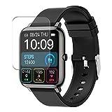 Vaxson 3 pezzi pellicola protettiva compatibile con BOZLUN iporachx P22 P22F smartwatch Smart Watch,...