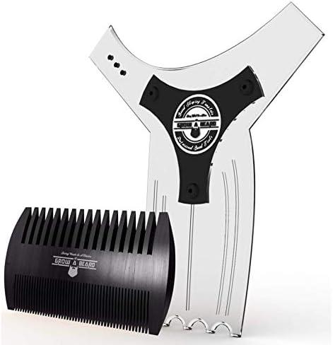 Beard shaving template _image1