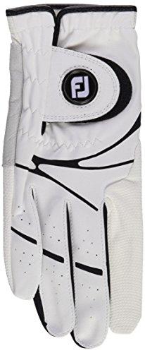 Footjoy GTxtreme - Guante de golf para zurdos, color blanco, derecha, Modelo...