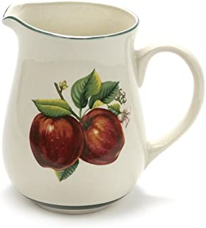 Apples, Casuals by China Pearl, Stoneware Water Pitcher