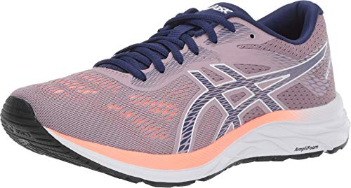 ASICS Women's Gel-Excite 6 Running Shoes, 5W, Violet Blush/Dive Blue