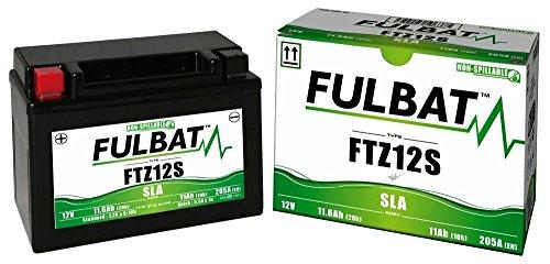 Yamaha XP 530 A, Tmax Black/Bronze/Iron/Lux ABS, FTZ12S, DIN51299, Wartungsfreie SLA - GEL Fulbat Batterie