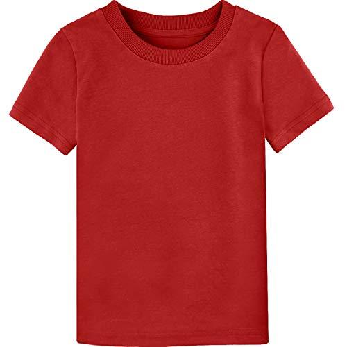 MOMBEBE COSLAND Camisetas Bebé Niños Corta Algodón T-Shir