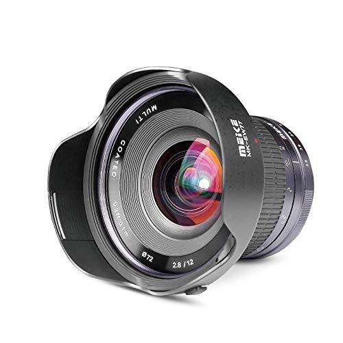 Meike Optics MK - Objetivo Ultra Gran Angular para Montura Sony E-Mount (12 mm, f2.8)