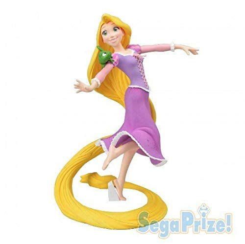Figura de Colección Rapunzel Disney 20cm Oficial Sega Super Premium SPM