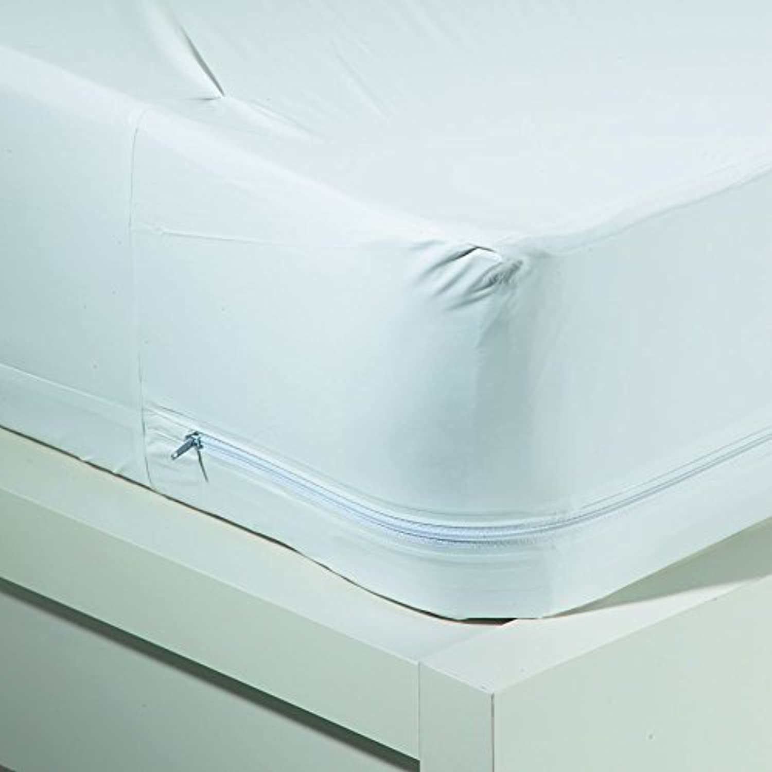 Sweet Home Collection Waterproof Washable 16  Bed Bug Blocker Zippered Mattress Cover Predector Twin