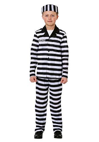 Boy's Jailbird Costume Large