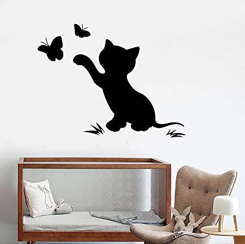 Tianpengyuanshuai babymeisje kleuterschool muur decal kit vlinder PVC materiaal Children's Room Cut Wall Sticker Home Decoration