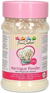 FunCakes Merengue en Polvo Listo para Usar de color Blanco
