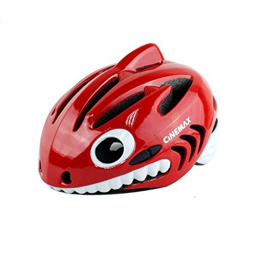 WXAD Kleine haaihelm voor kinderen, fiets, mannelijk en vrouwelijk fietsen, evenwicht auto, schaatshelm voor sport, outdoor helm