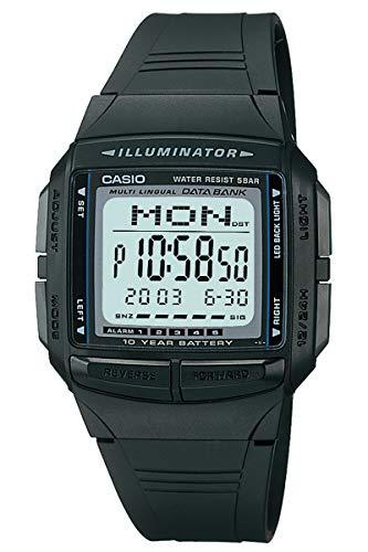 [カシオ] 腕時計 データバンク DB-36-1AJF ブラック