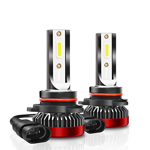 8000LM 80W H8 H9 H11 Juego de bombillas antiniebla LED Juego de luces de xenón 6000K x2 sin ventilador - Mejora la apariencia de tu auto en 5 minutos
