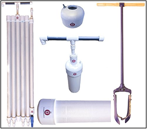 DIY Water Well Kit, includes water well hand pump, auger, well screen & cap