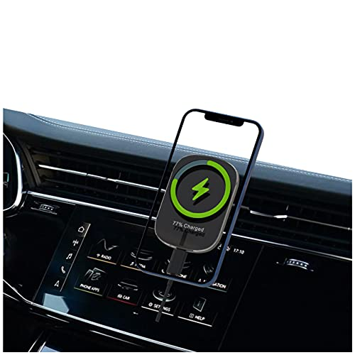 Shangshanruoshui Best Car Magnetic Mount ,Phone Holder Compatible for iPhone 12 Pro Max/12 Pro/12 Mini , Car Air Vent Phone Mount ,15W Magsafe car chargersr ,Black