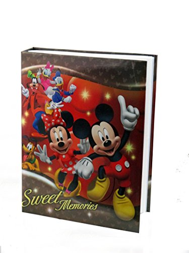 Disney Exclusive Mickey Mouse & Friends Sweet Memories Red Photo Album