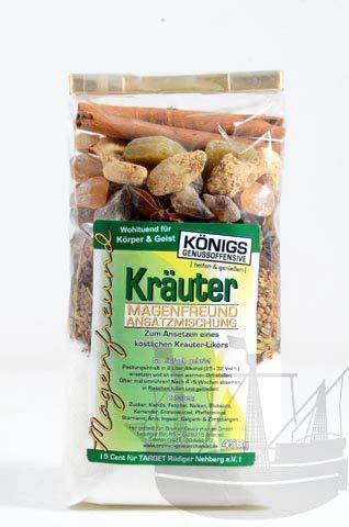 Magenfreund Ansatzmischung Kräuter, 450g, zum Ansetzen, ohne künstliche Zutaten, Kräuterlikör, Likör selber machen - Bremer Gewürzhandel