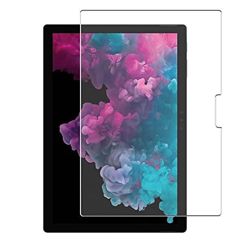 Vaxson 4 Unidades Protector de Pantalla, compatible con Microsoft Surface Pro 6 / Surface Pro 12.3' [No Vidrio Templado Carcasa Case ] Película Protectora Film Guard