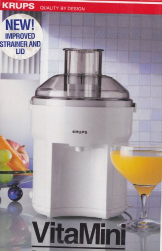 Krups VitaMini Compact Juicer Compact Juice Extractor
