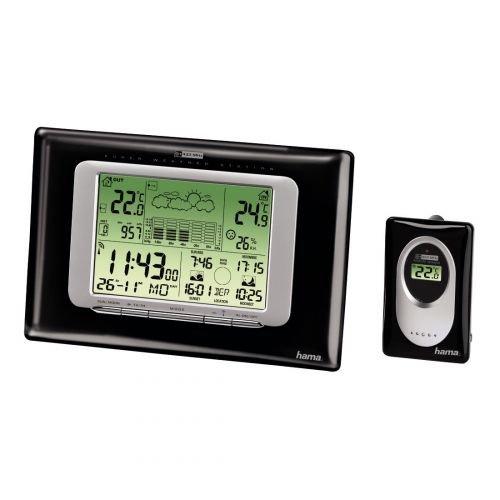 Hama Station météo Electronique EWS de 750, Noir