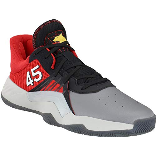 adidas D.O.N. Issue #1 Shoe - Men's Basketball Legacy Green/Core Black/Red