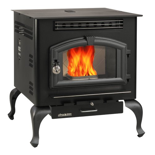 US Stove 6041HF Multi Fuel Stove, 2,000 Square Feet