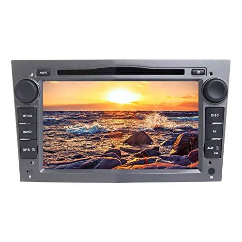 JIBO 7' Android 8.0 Doble Estruendo GPS Navegación Cabeza Unidad por Opel Zafira 2006-2010 Estéreo Multimedia DVD Jugador Nav Sat Bluetooth SWC WiFi Auto Radio Audio Receptor