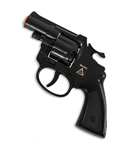 KarnevalsTeufel Revolver Olly 8-Schuß Spielzeugrevolver Pistole Polizei Agent FBI SWAT Sondereinsatzkommando 8 Schuss (Revolver Olly)