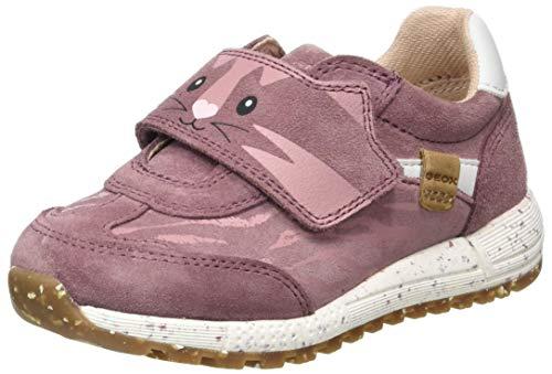 Geox B ALBEN Girl B, Sneaker Bambina, Rosa (Rose Smoke), 24 EU