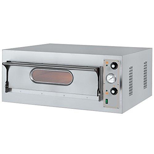 Macfrin 5108 Horno Eléctrico para 8 Pizzas