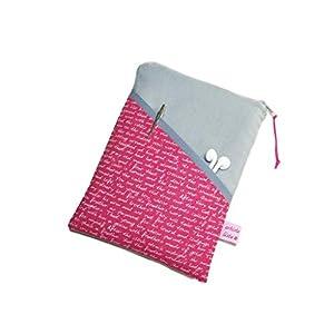 eReader Tasche eBook Reader Tablet Hülle Poesie rot, Maßanfertigung bis max. 10,9″ z.B. für iPad Mini 4