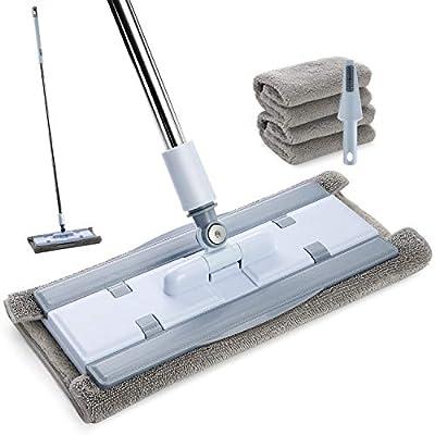 Microfiber Floor Mop for Floor Cleaning, Hardwo...